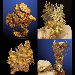 Yale's Peabody Museum Showcases Stunning, Rarely Seen Formations of California Gold